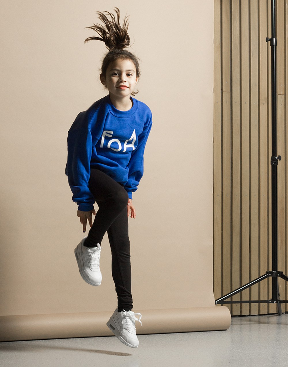 FoA. Kids Sweater Royal Blue
