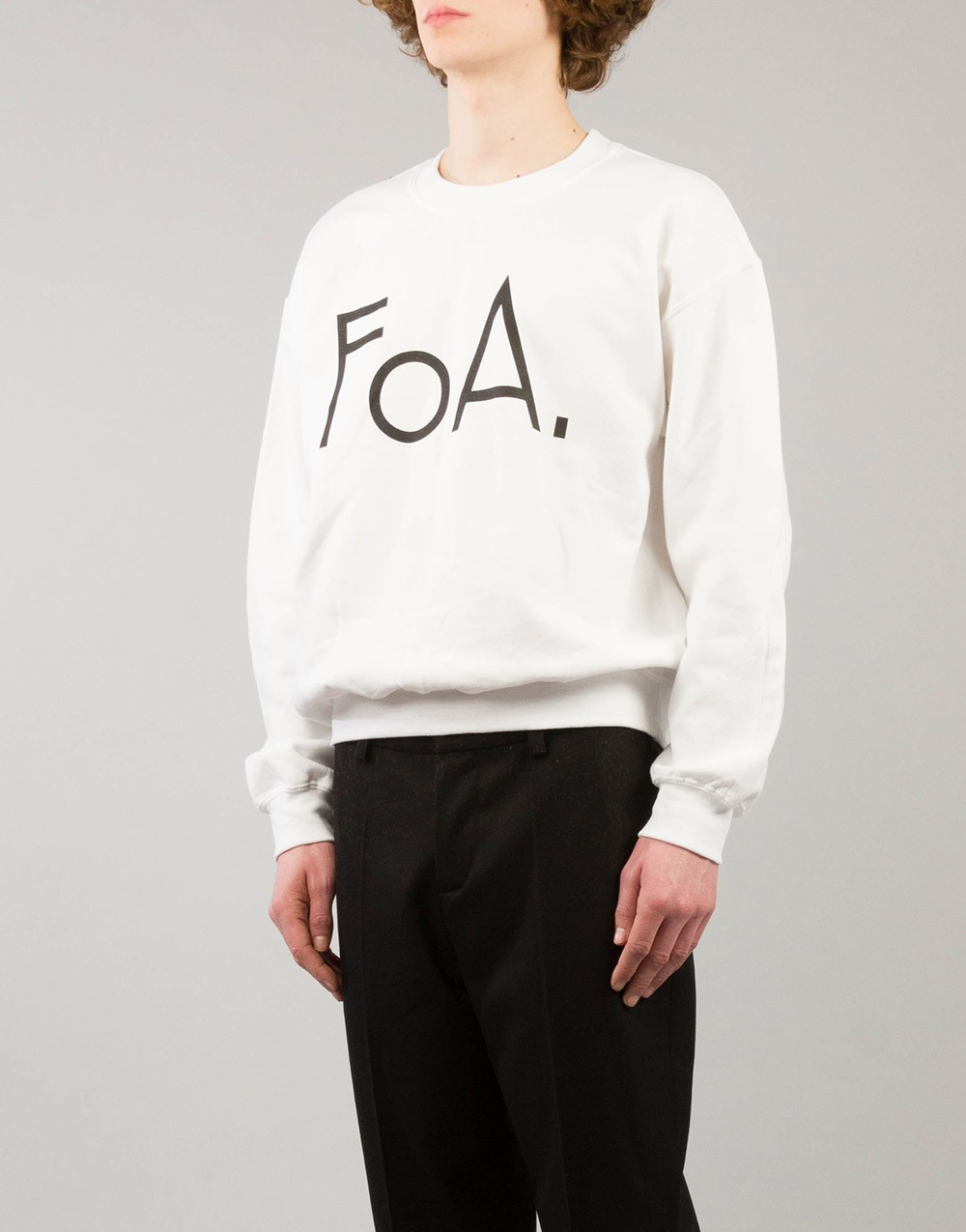 FoA. Logo Sweater Crewneck