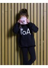 foa kids sweater black