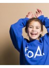 foa kids sweater royal blue